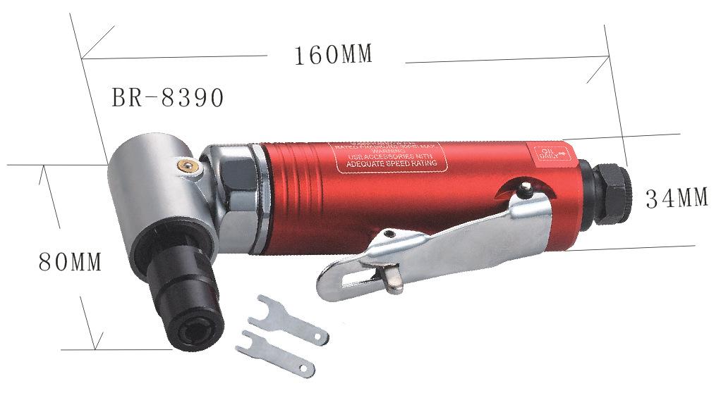 """2气动2""""平面角磨机 打磨机 BR--8310"""